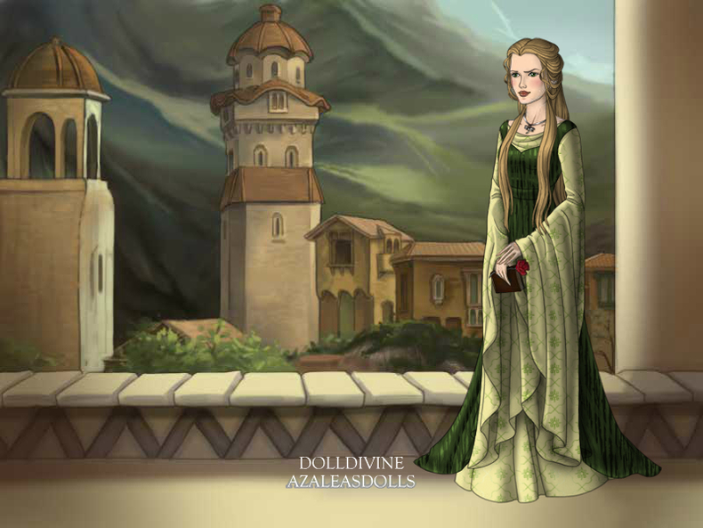 A representation of Princess Erewhon from #TalesoftheWovlen
